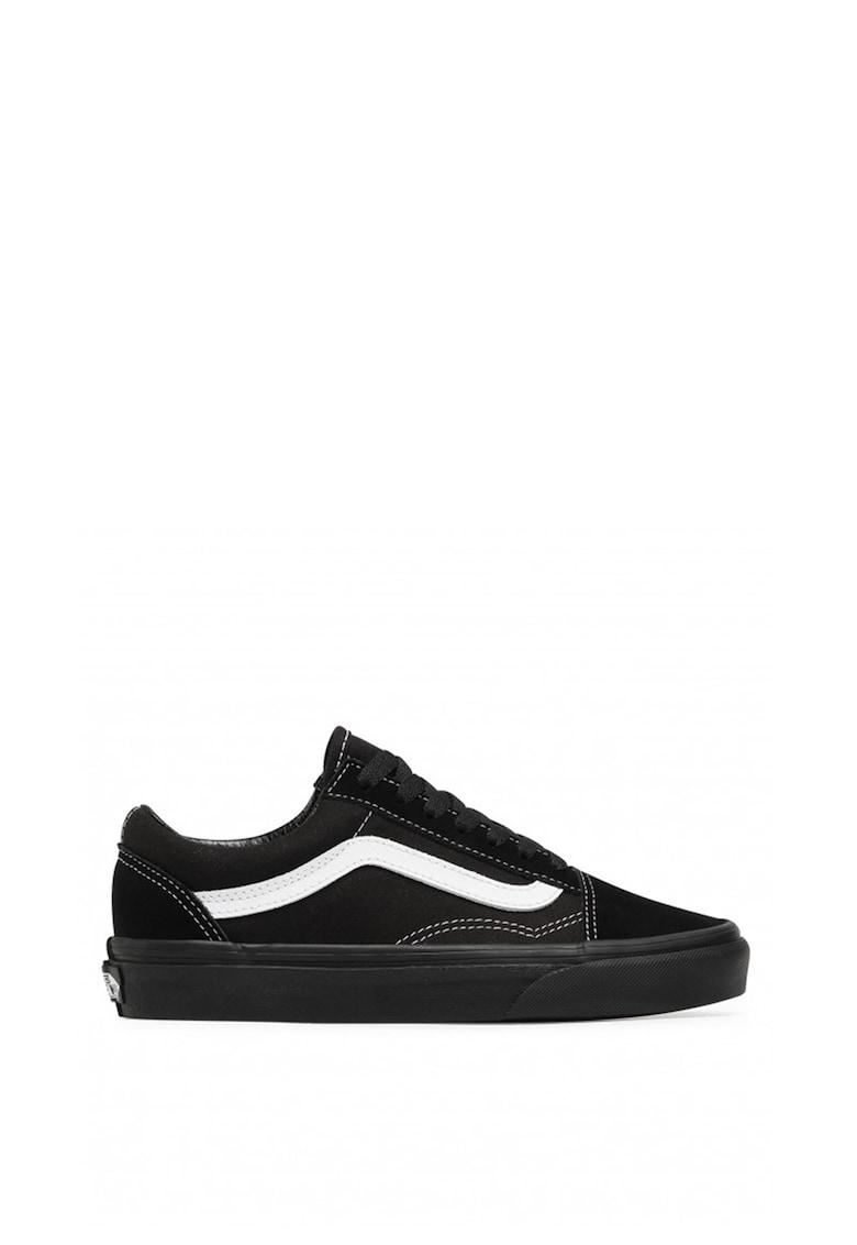 Pantofi sport unisex cu insertii din piele intoarsa Old Skool imagine fashiondays.ro Vans