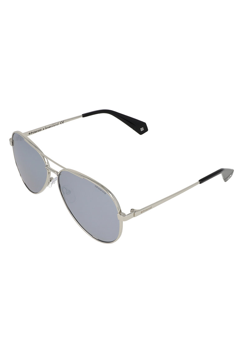 Ochelari de soare aviator polarizati cu rama metalica imagine fashiondays.ro Polaroid