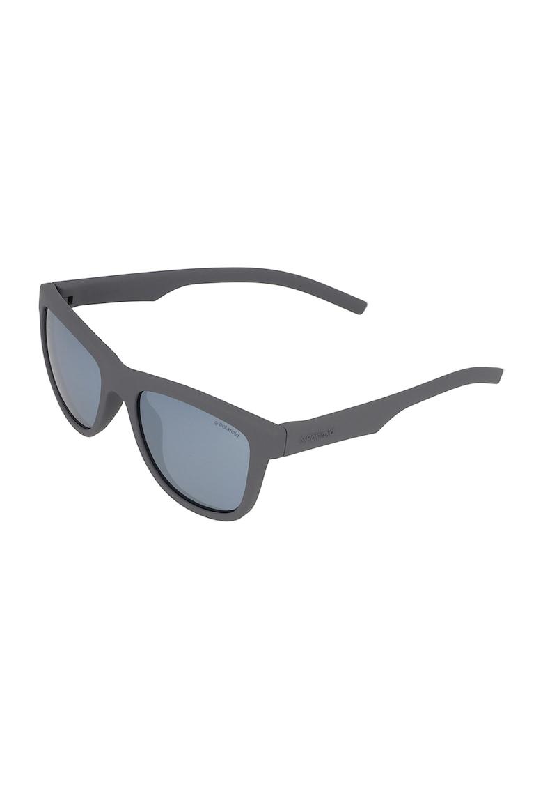 Ochelari de soare dreptunghiulari cu lentile polarizate Polaroid fashiondays.ro