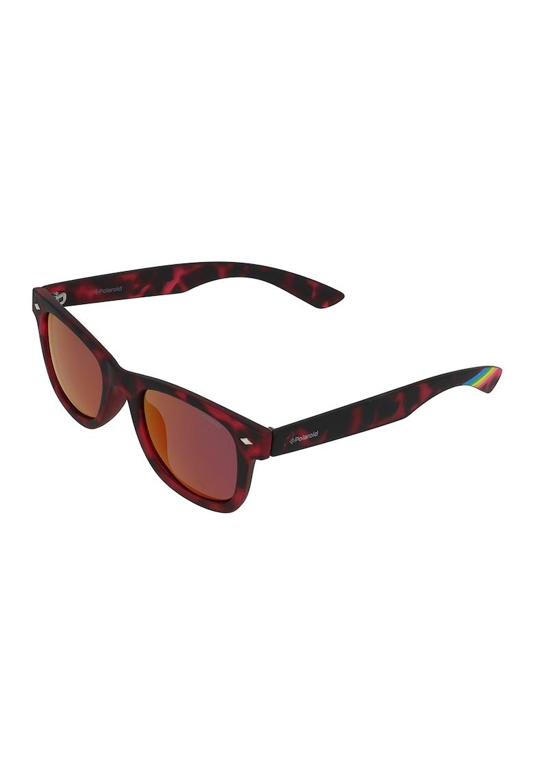 Ochelari de soare polarizati cu accente contrastante Polaroid fashiondays.ro