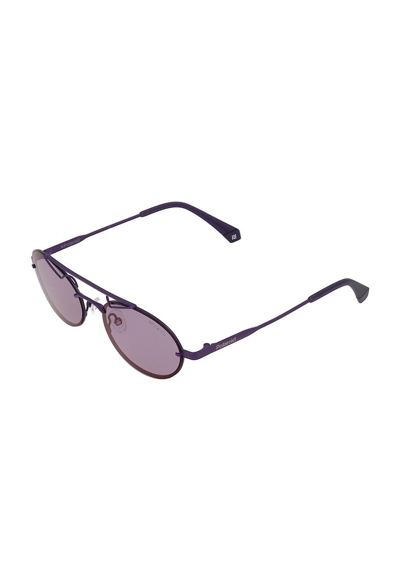 Ochelari de soare ovali unisex Polaroid fashiondays.ro