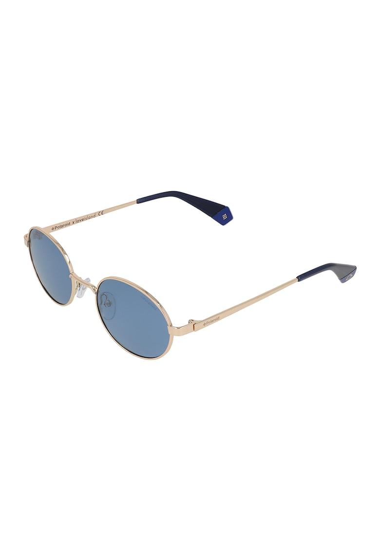 Ochelari de soare rotunzi unisex polarizati imagine fashiondays.ro Polaroid