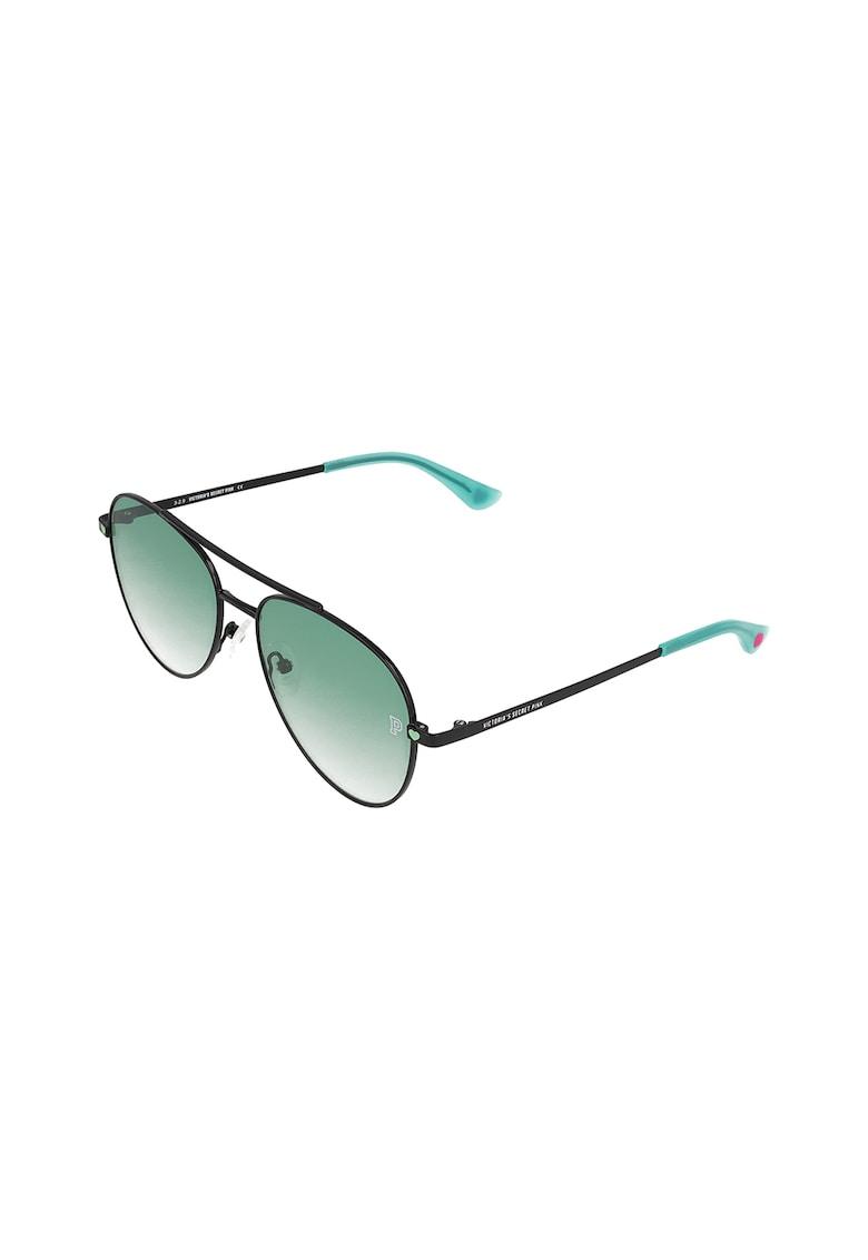 Ochelari de soare aviator cu lentile in degrade VICTORIA'S SECRET fashiondays.ro