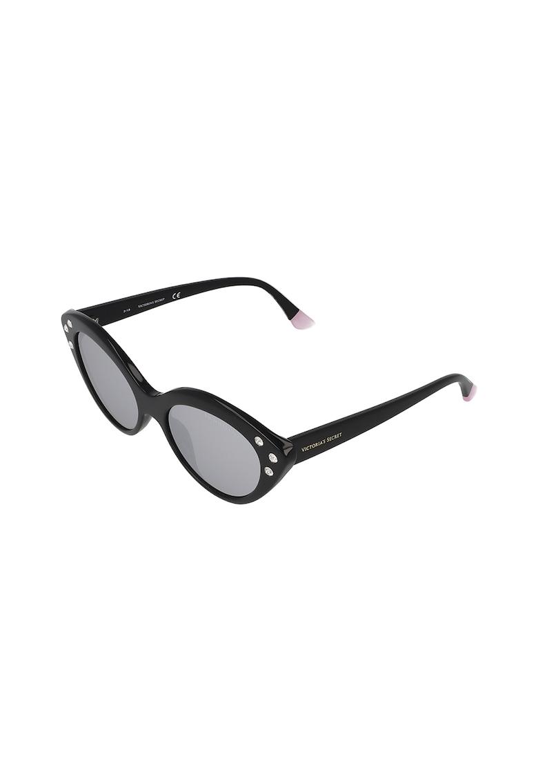 Ochelari de soare cat-eye cu cristale imagine fashiondays.ro VICTORIA'S SECRET