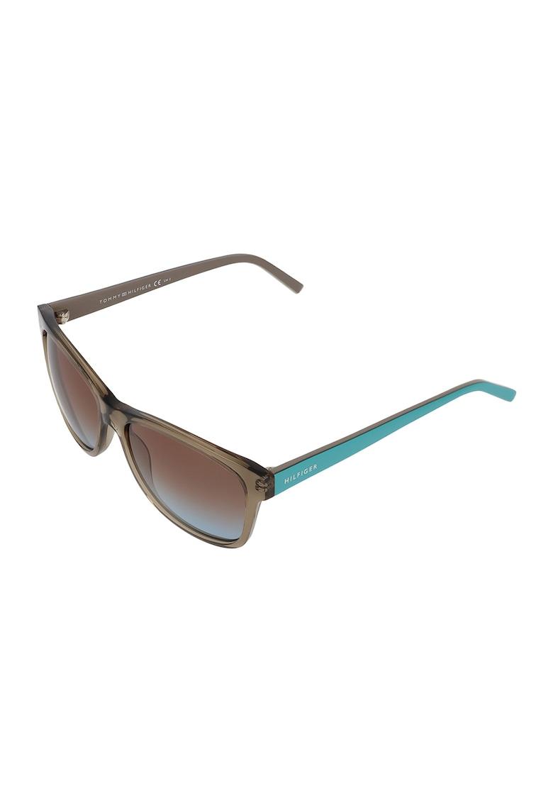 Ochelari de soare unisex rotunzi imagine fashiondays.ro Tommy Hilfiger