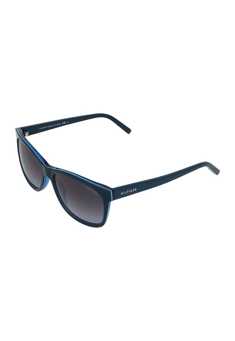 Ochelari de soare unisex dreptunghiulari polarizati imagine fashiondays.ro Tommy Hilfiger