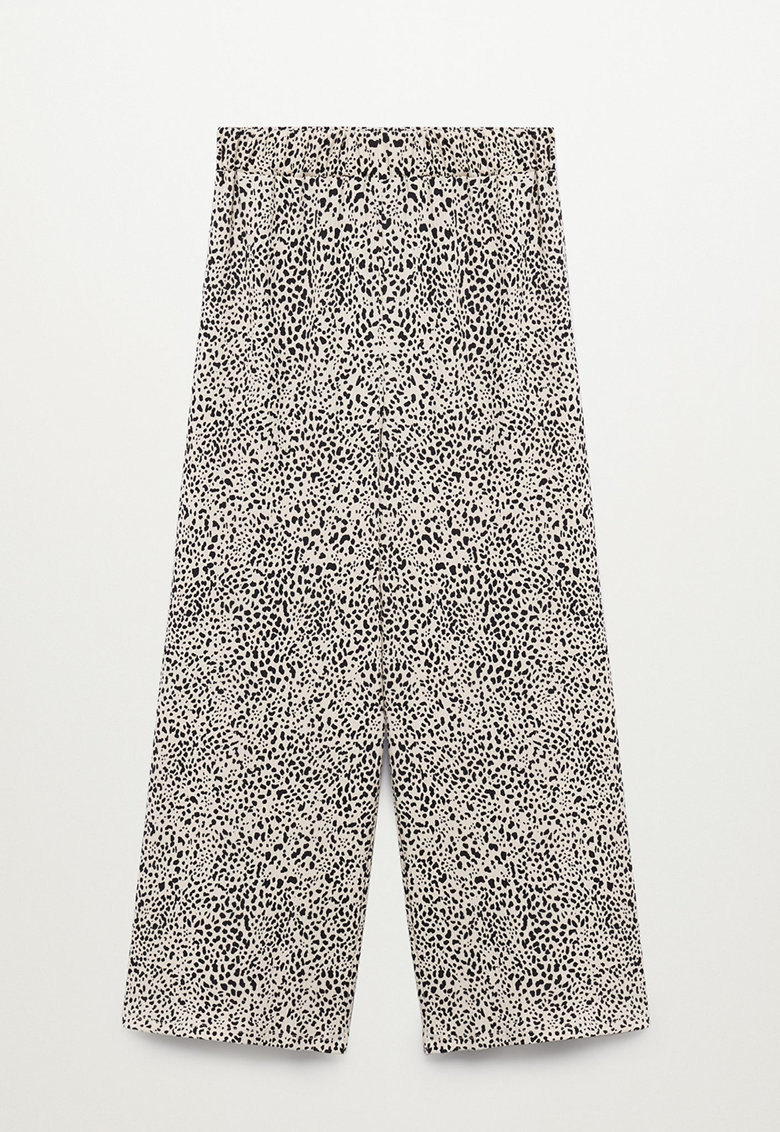Pantaloni culotte cu aspect texturat imagine fashiondays.ro 2021