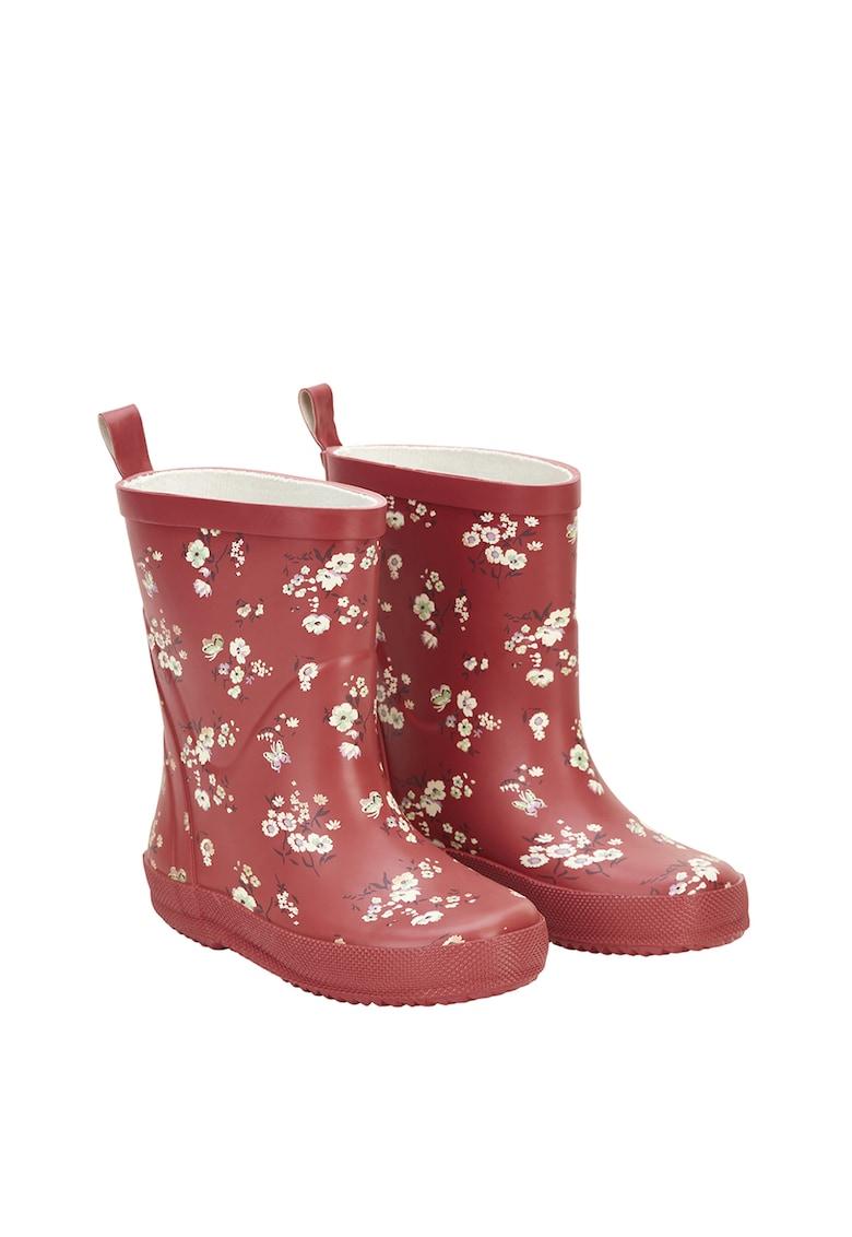 Cizme de ploaie cu imprimeu floral