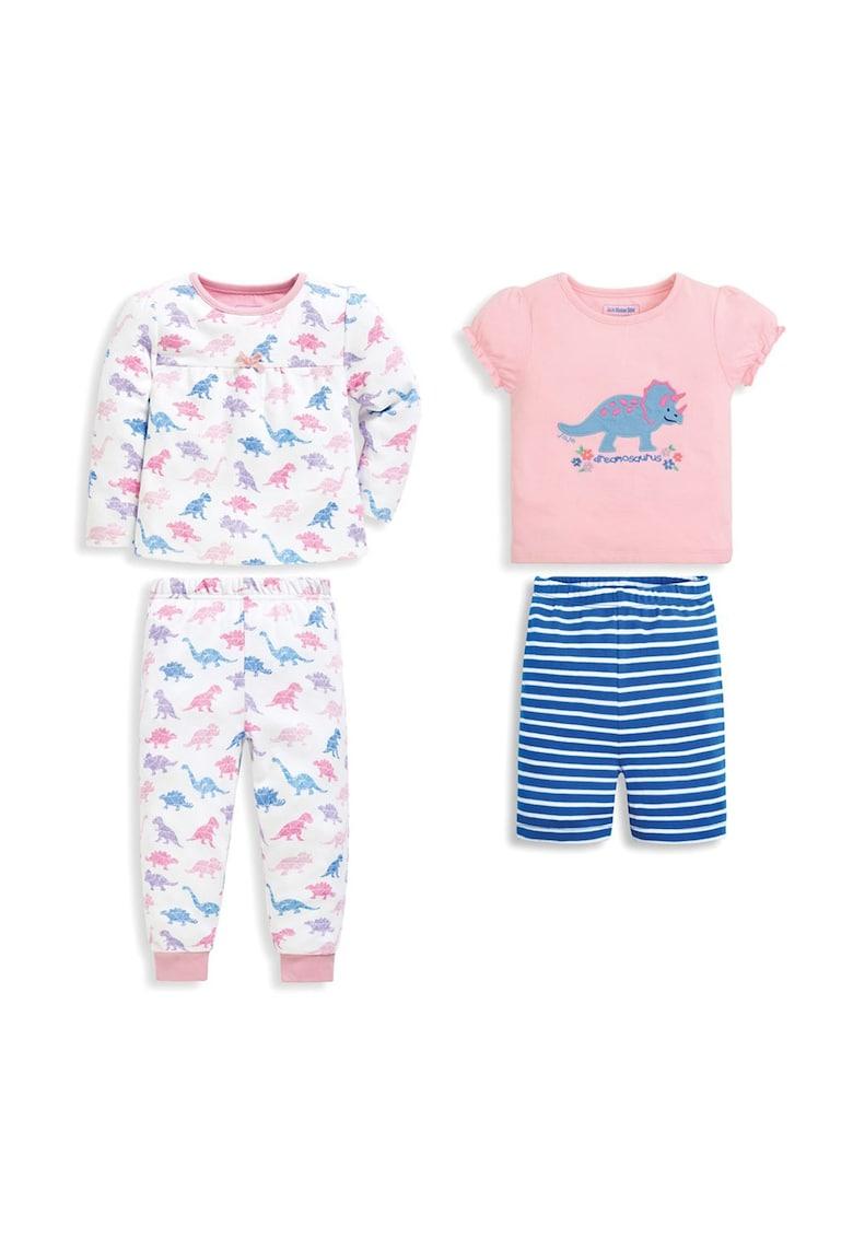 JoJo Maman Bebe Set de pijamale cu imprimeu - 2 perechi