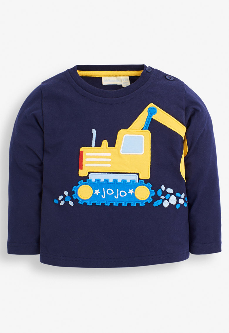 Bluza sport din bumbac cu model de la JoJo Maman Bebe