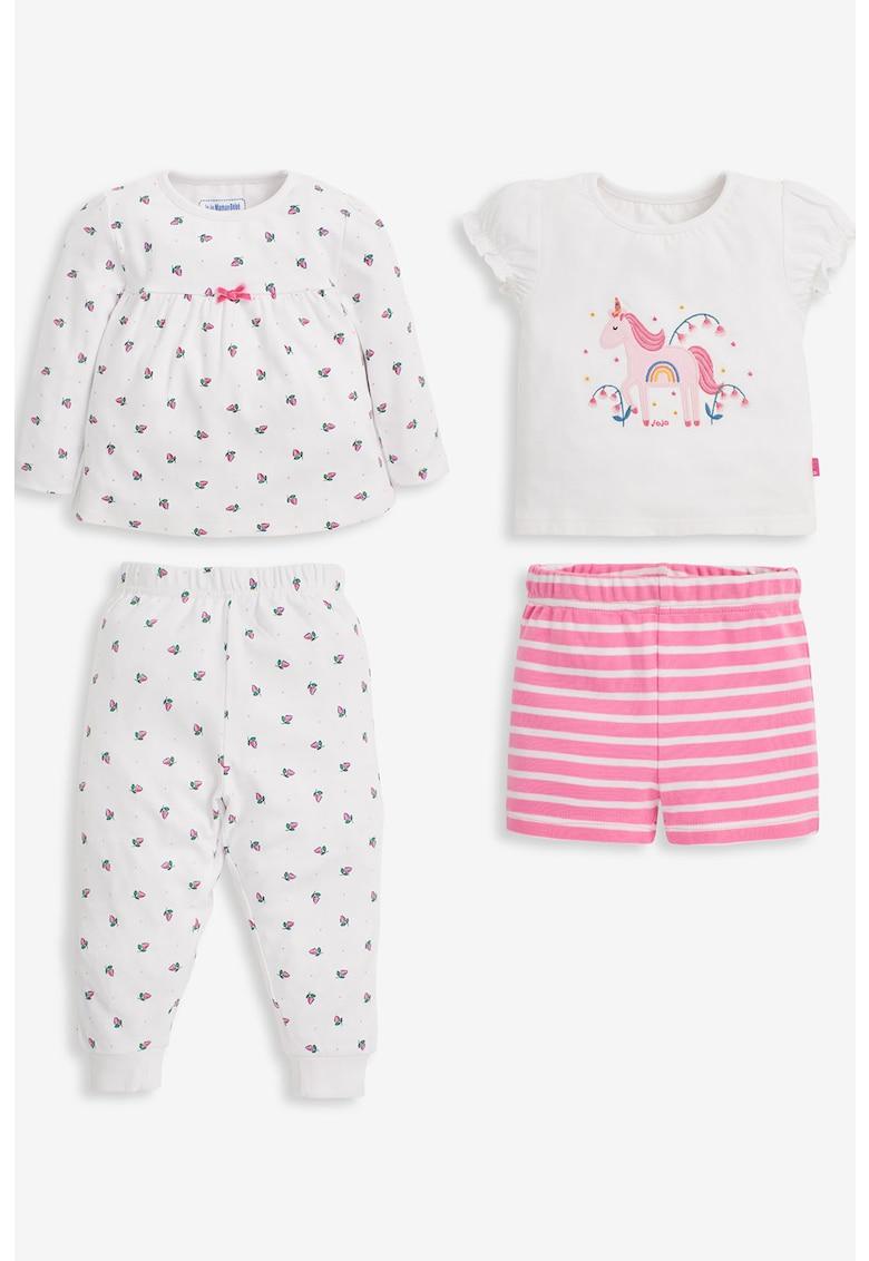 Set de pijamale cu imprimeu - 4 piese