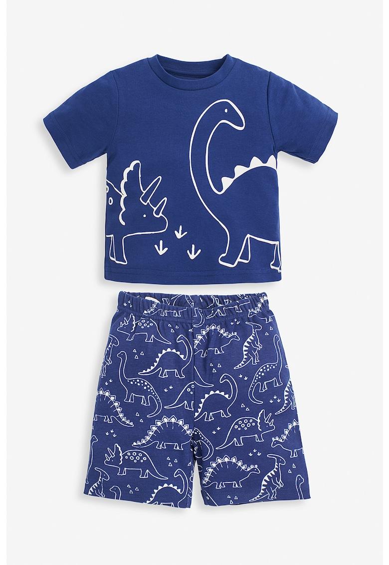 Pijama din bumbac cu imprimeu de la JoJo Maman Bebe