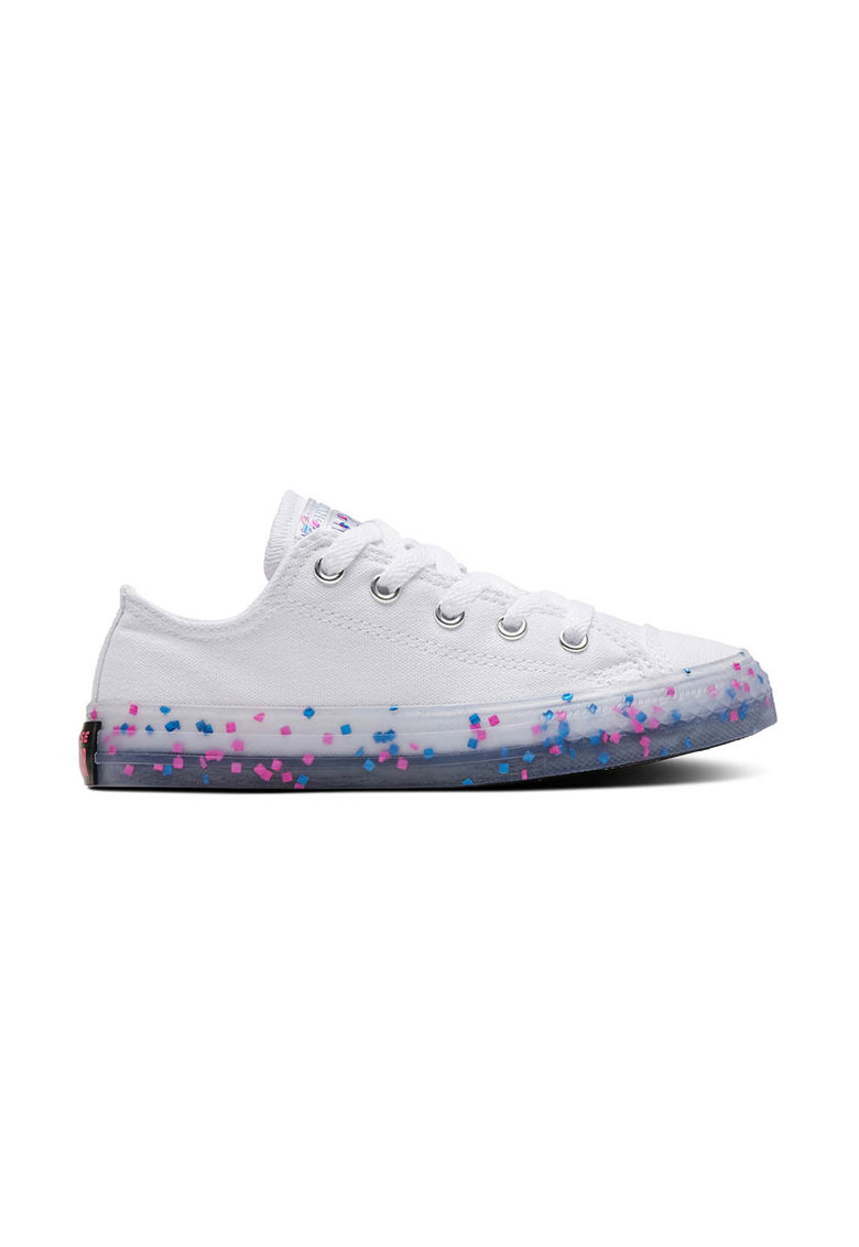 Tenisi cu talpa cu pete decorative CHUCK TAYLOR ALL STAR imagine fashiondays.ro 2021