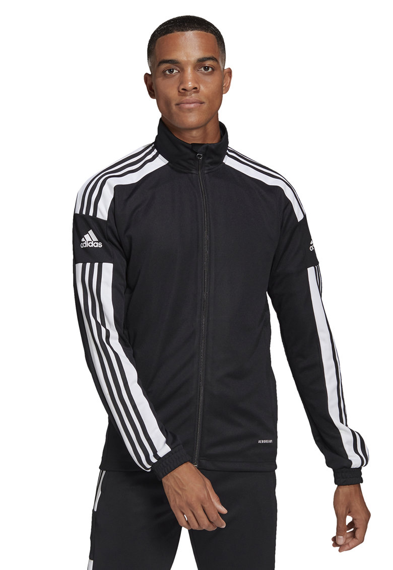 Bluza sport cu fermoar - pentru fotbal Squadra 21 imagine fashiondays.ro adidas Performance