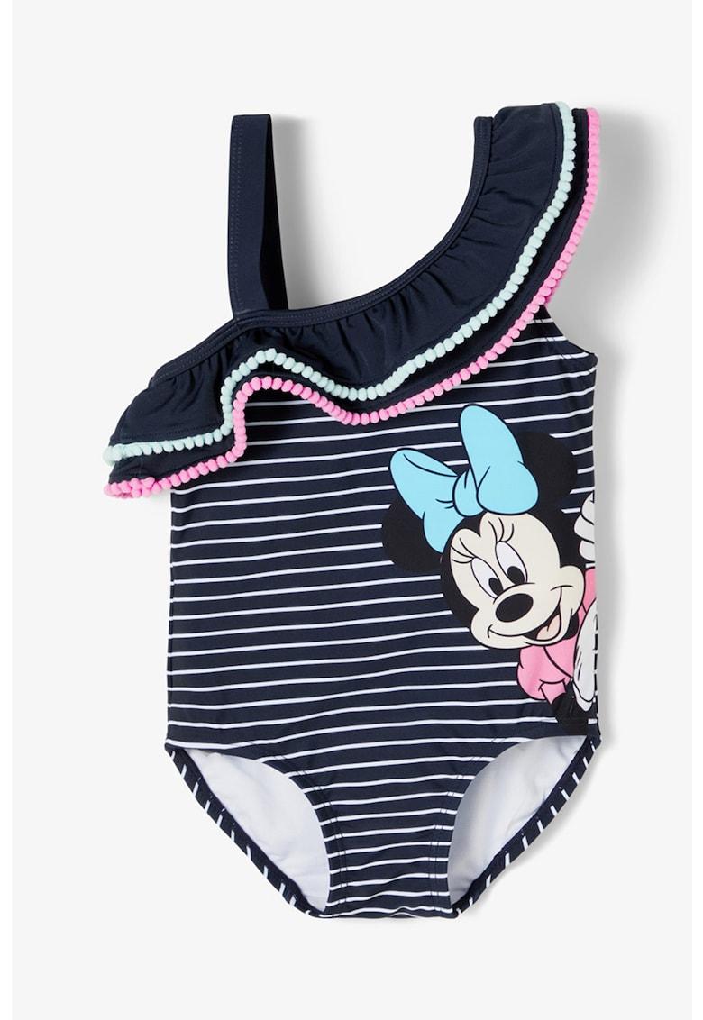 Costum de baie intreg cu imprimeu Minnie Mouse imagine fashiondays.ro NAME IT