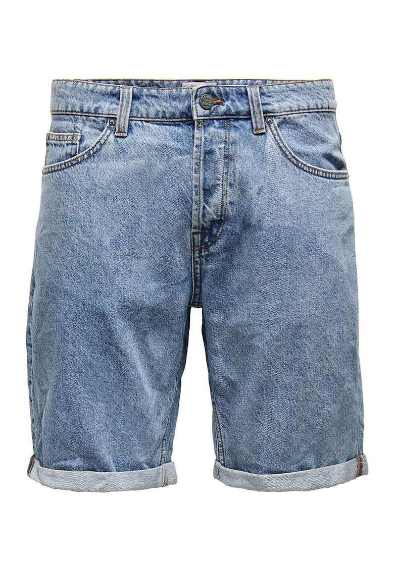 Pantaloni scurti din denim Onsavi fashiondays.ro