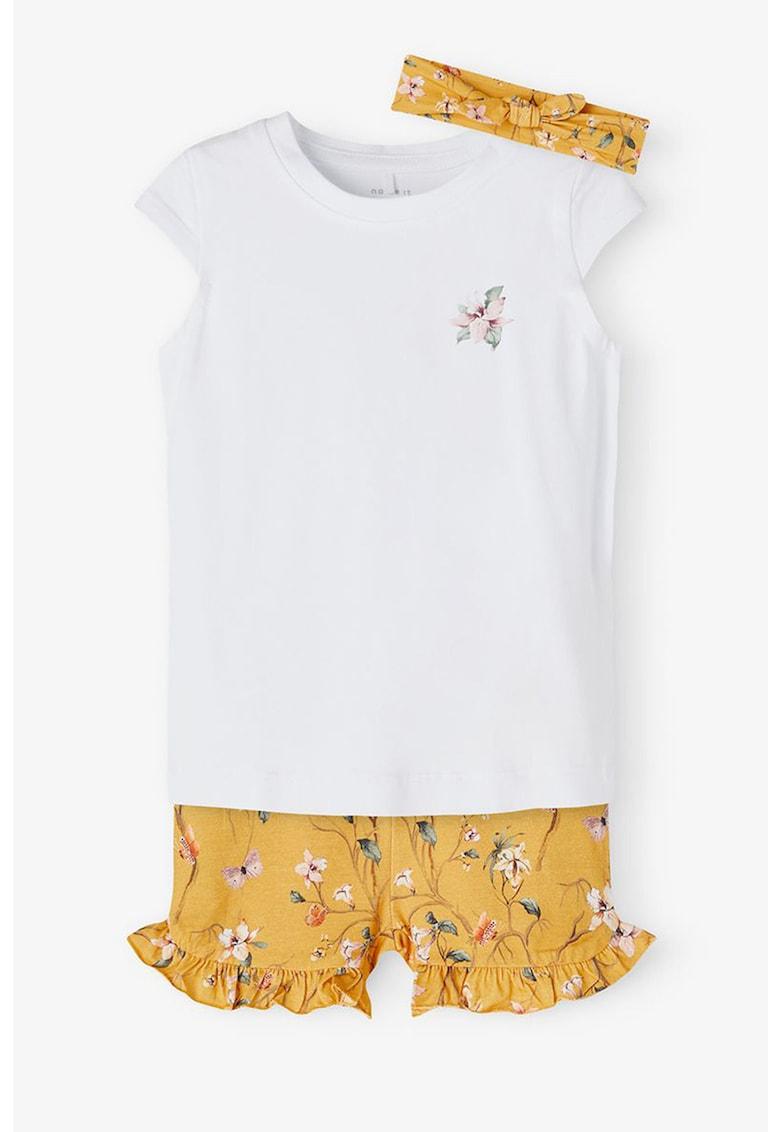 Set de haine din amestec de bumbac organic - 3 piese imagine fashiondays.ro 2021