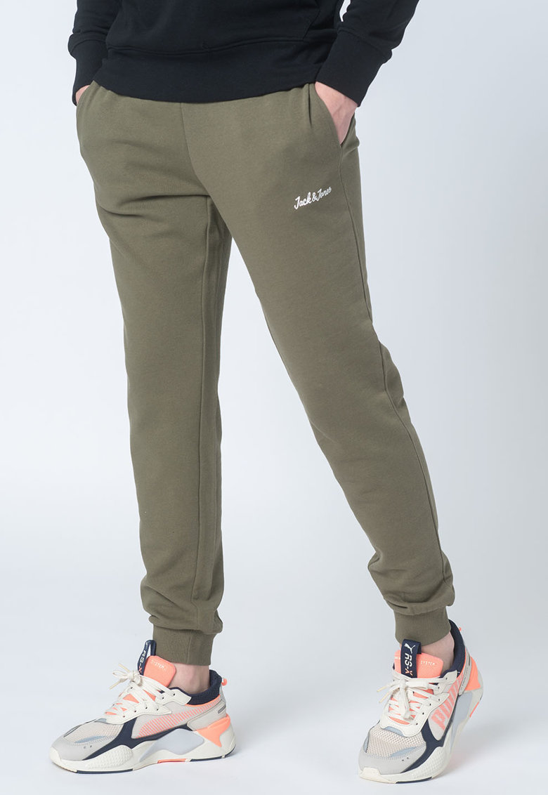 Set de pantaloni sport slim fit cu snur de ajustare Winks - 2 perechi imagine fashiondays.ro 2021