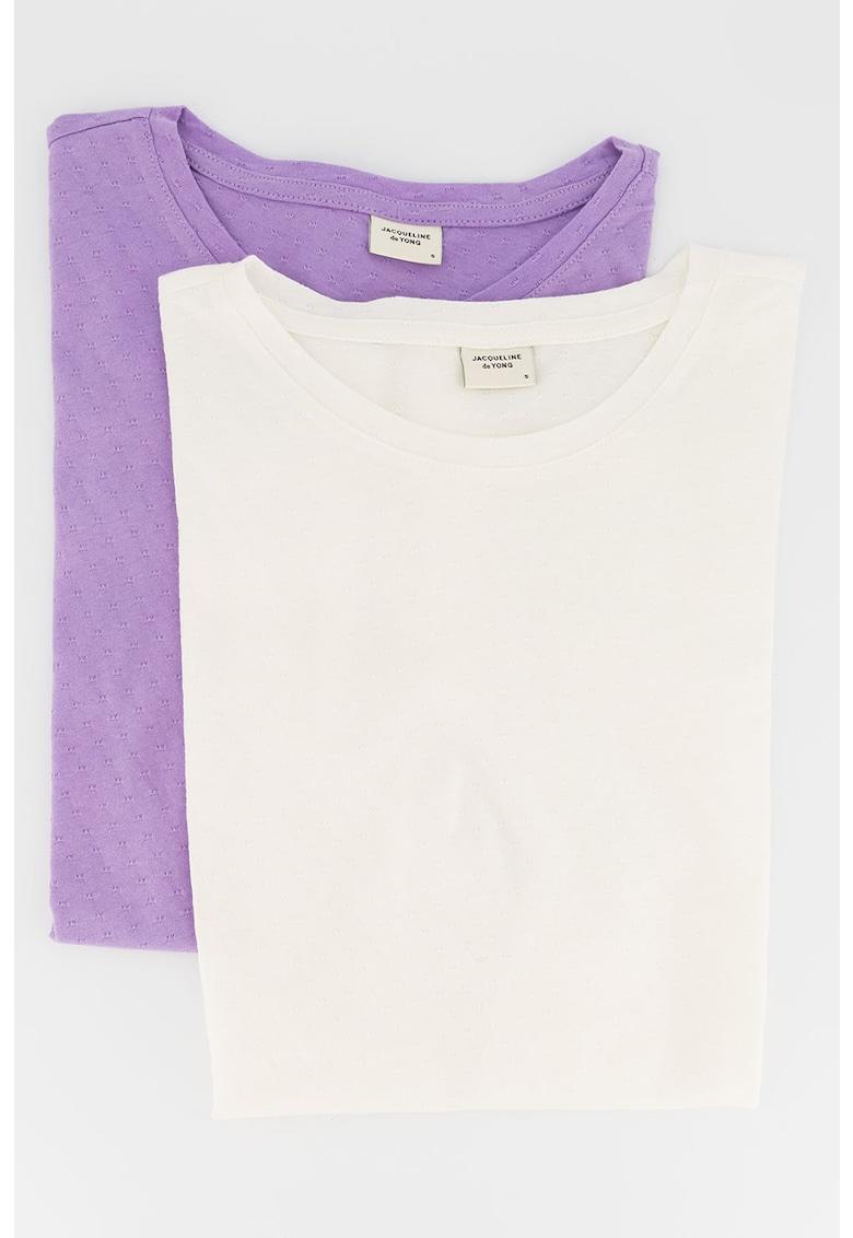 Set de 2 tricouri Pastel Life imagine fashiondays.ro 2021