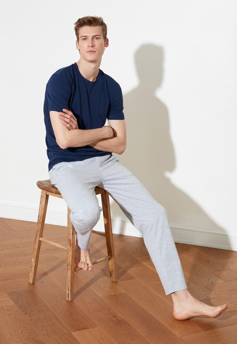 Pijama din bumbac imagine fashiondays.ro 2021