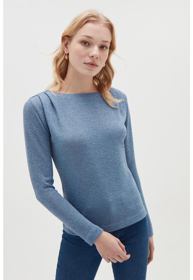 Bluza tricotata fin cu decolteu barcuta OVS fashiondays.ro