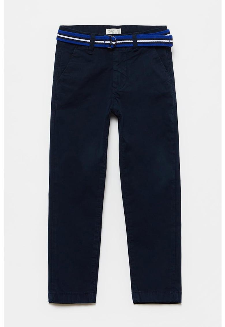 Pantaloni chino cu croiala dreapta imagine fashiondays.ro 2021