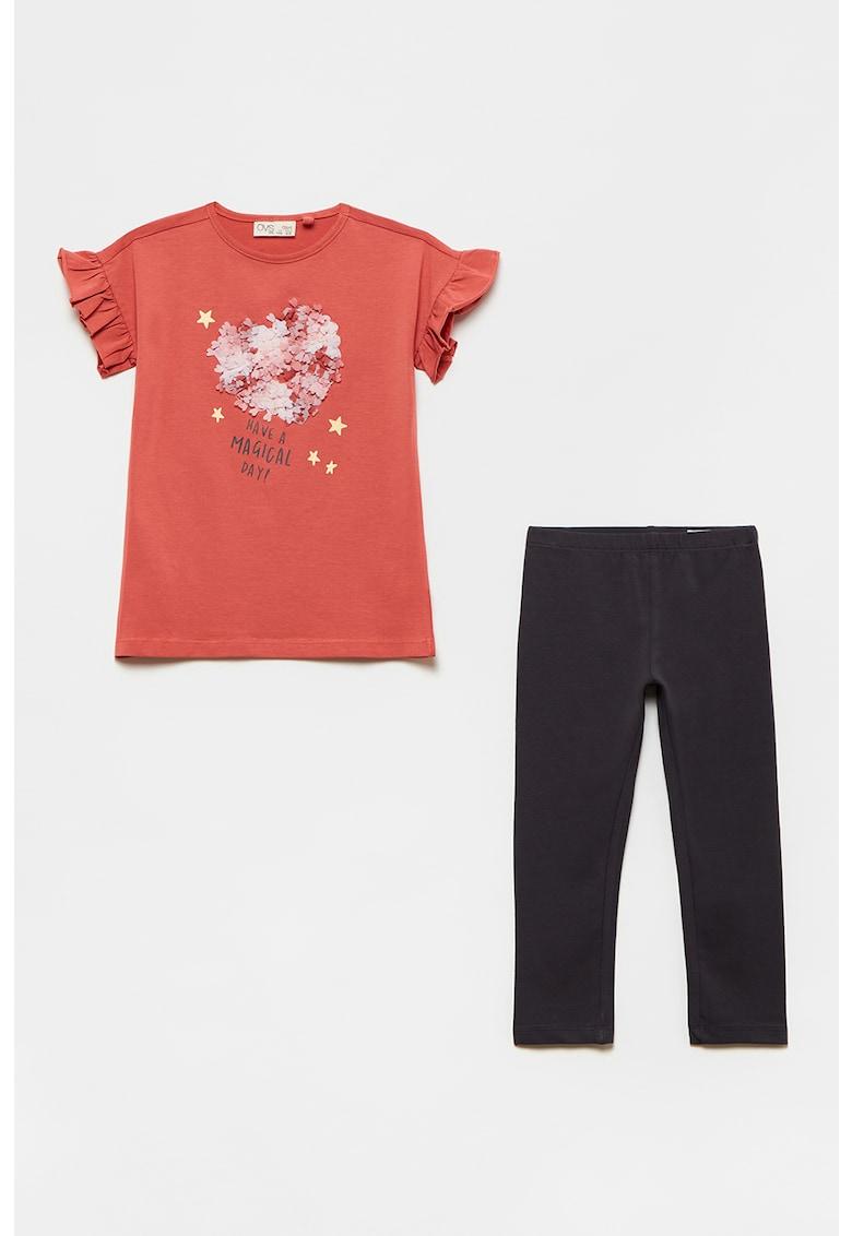 Set de tricou si colanti imagine fashiondays.ro 2021