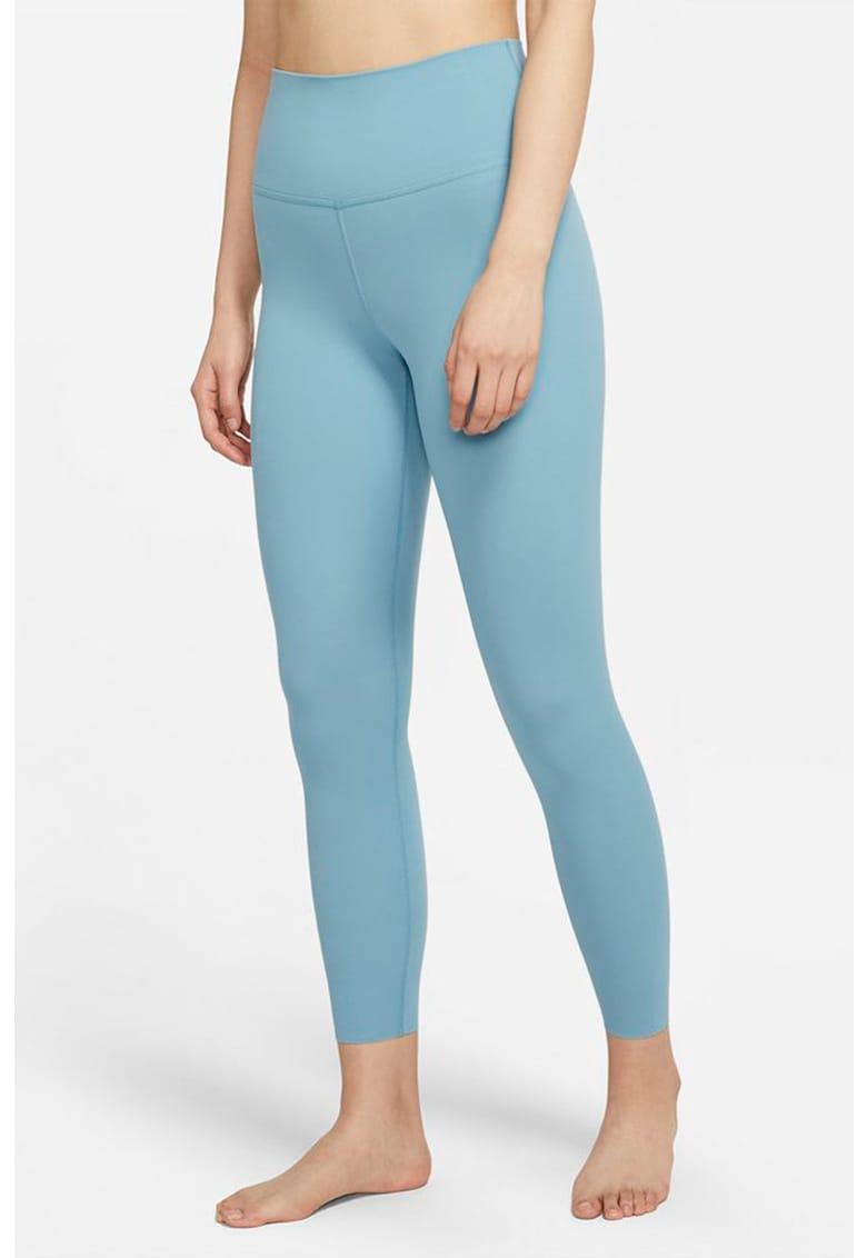 Colanti crop cu Dri-FIT - pentru yoga Luxe imagine fashiondays.ro Nike