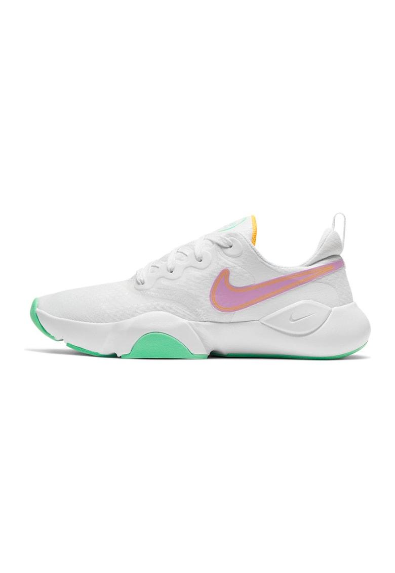 Pantofi cu accente cu model colorblock pentru antrenament Speedrep imagine fashiondays.ro Nike