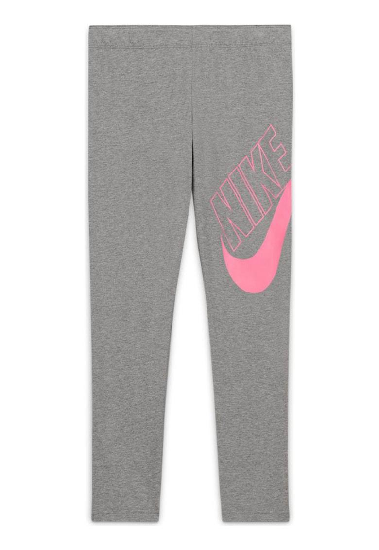 Colanti cu imprimeu logo pentru antrenament Favorites imagine fashiondays.ro Nike