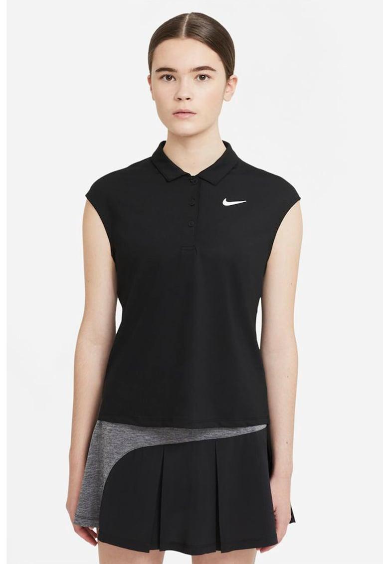 Tricou polo cu tehnologie Dri-Fit pentru tenis Victory imagine fashiondays.ro Nike