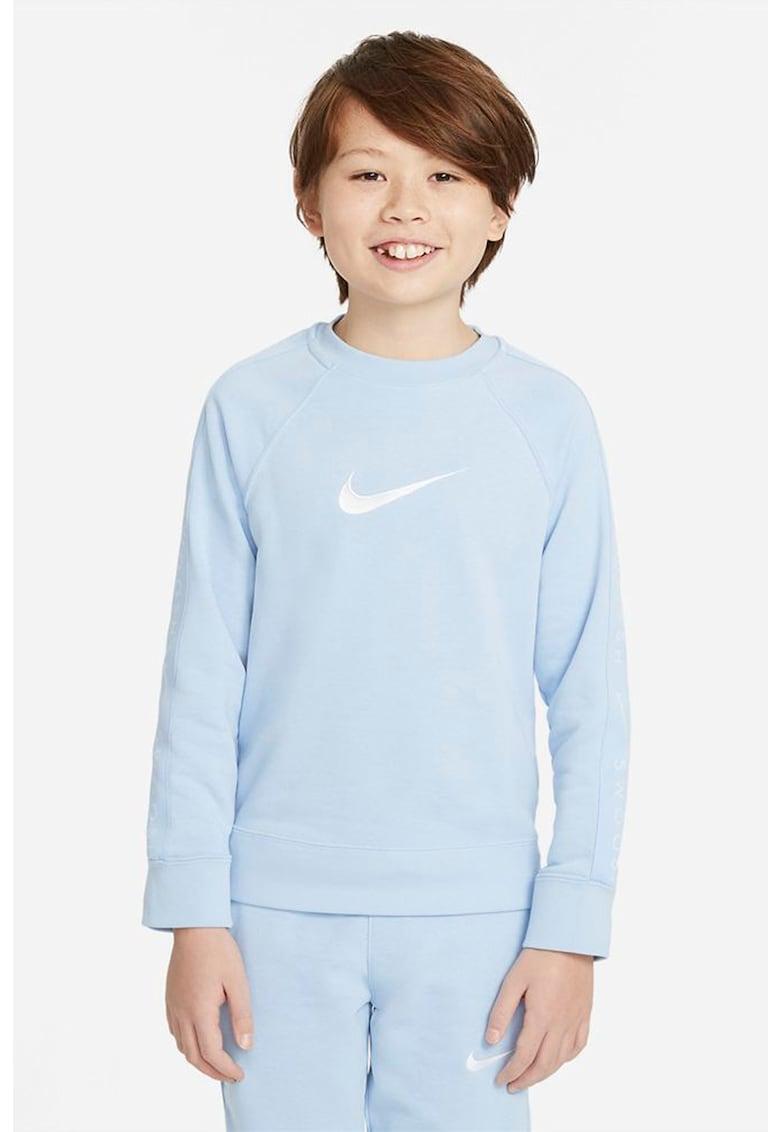 Bluza sport cu logo si decolteu la baza gatului Swoosh imagine fashiondays.ro Nike