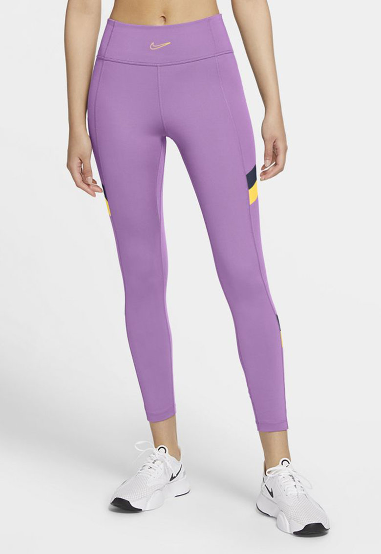 Colanti cu talie inalta - pentru fitness One imagine fashiondays.ro Nike