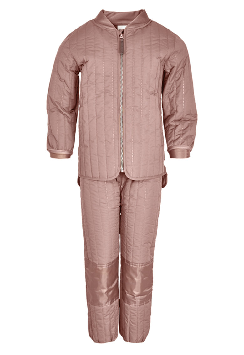 Jacheta termica cu fermoar si pantaloni - 2 piese imagine fashiondays.ro EN FANT