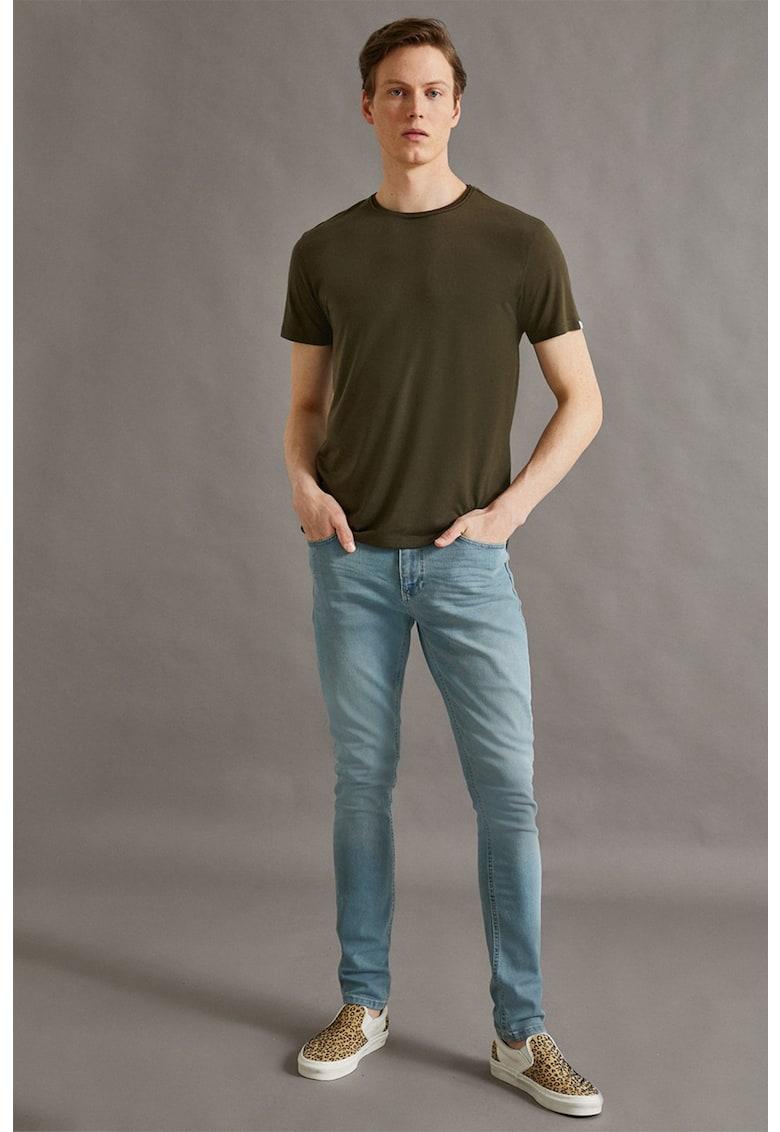 Blugi super skinny Justin imagine fashiondays.ro 2021