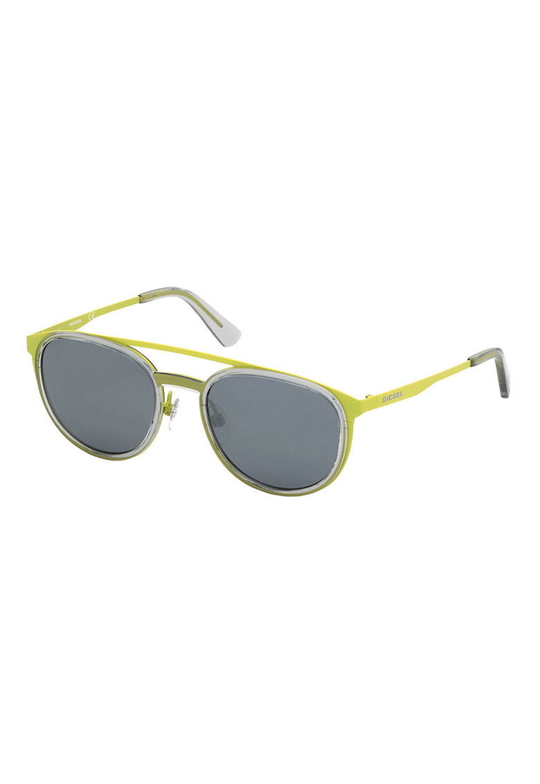 Ochelari de soare aviator cu insertii metalice imagine fashiondays.ro Diesel