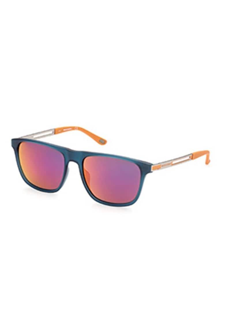 Ochelari de soare wayfarer cu lentile oglinda imagine fashiondays.ro Skechers