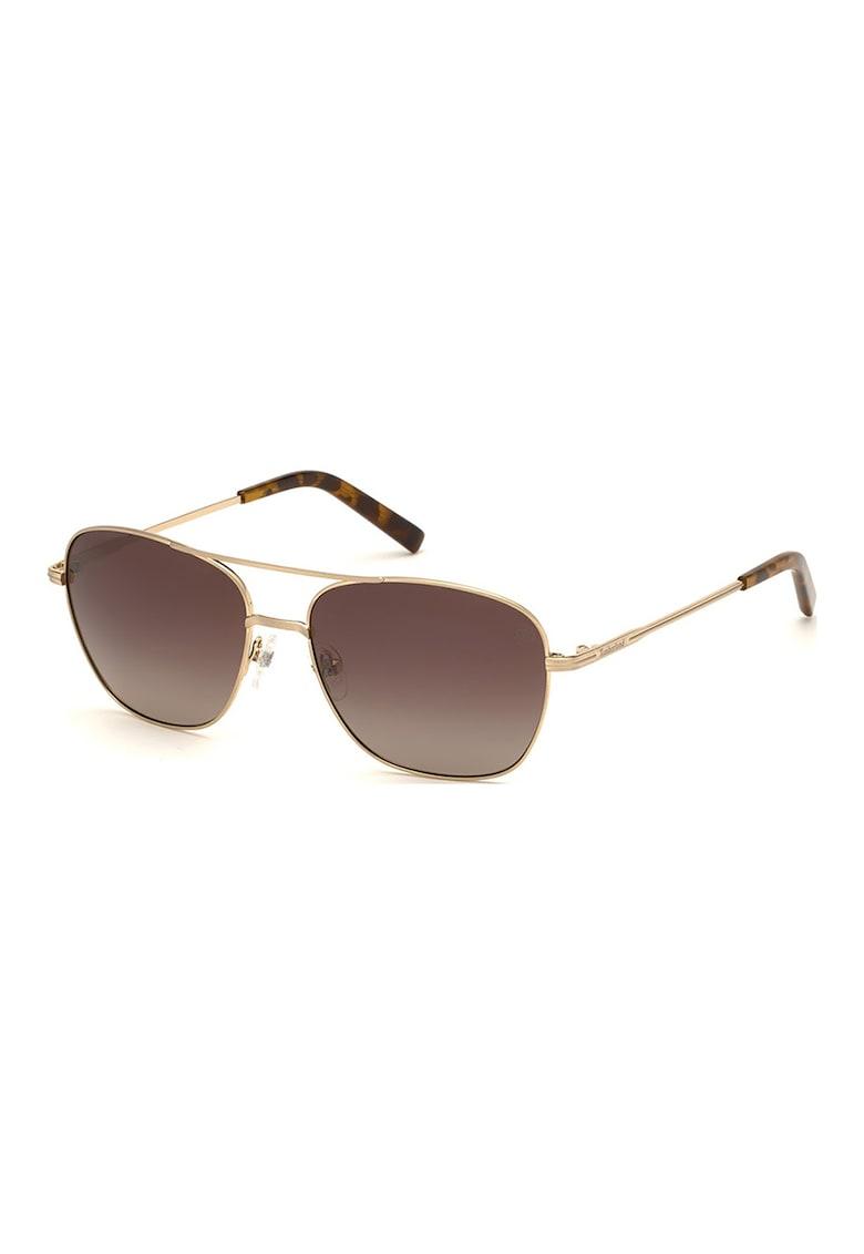Ochelari de soare aviator cu lentile polarizate imagine fashiondays.ro Timberland
