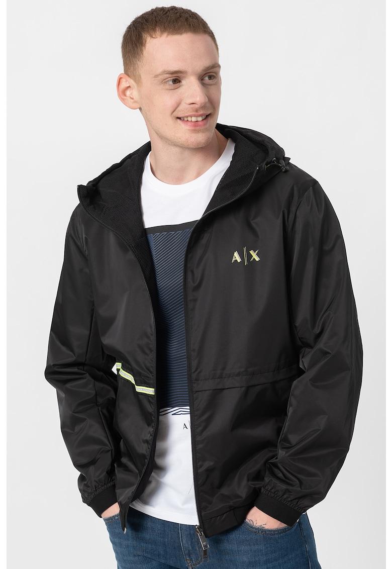 Jacheta usoara cu model reversibil de la ARMANI EXCHANGE