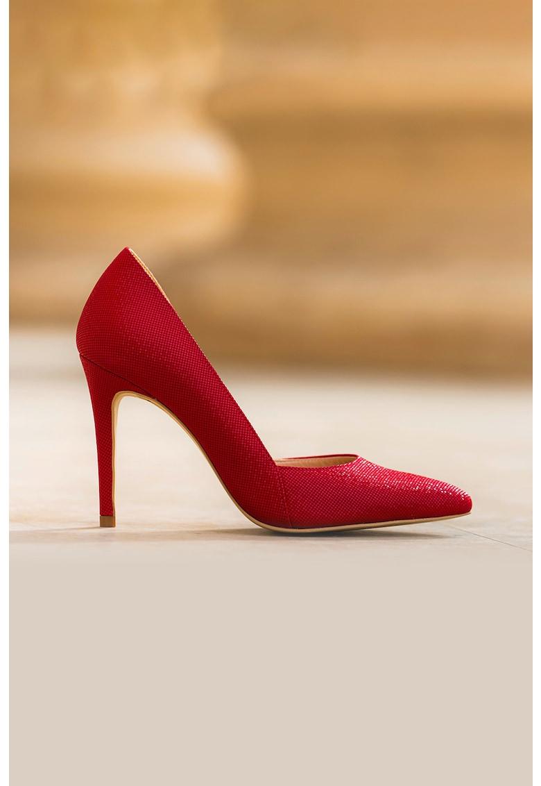 CONDUR by alexandru Pantofi stiletto de piele cu varf ascutit Aime