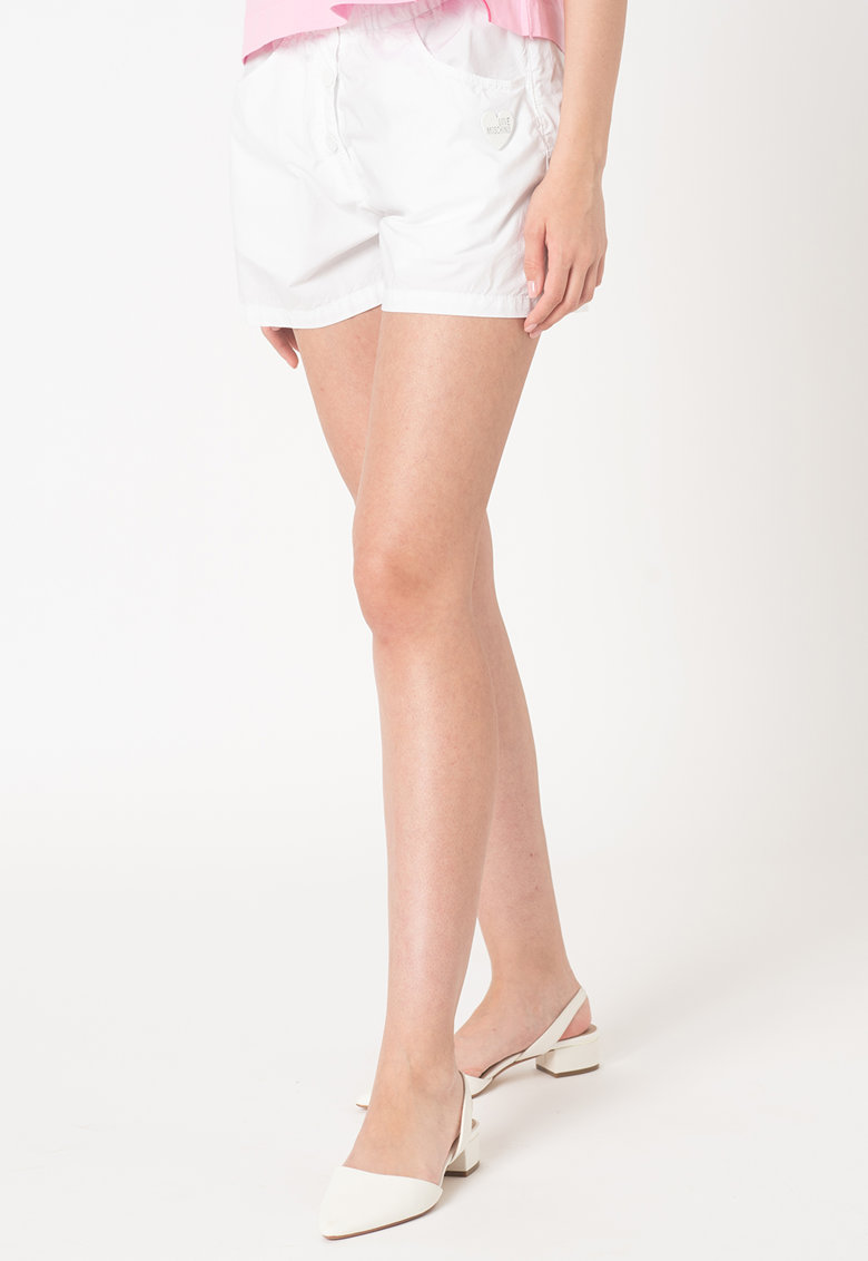 Pantaloni scurti cu talie elastia