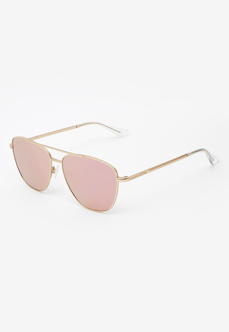 Ochelari de soare unisex cu lentile oglinda Lax imagine fashiondays.ro Hawkers