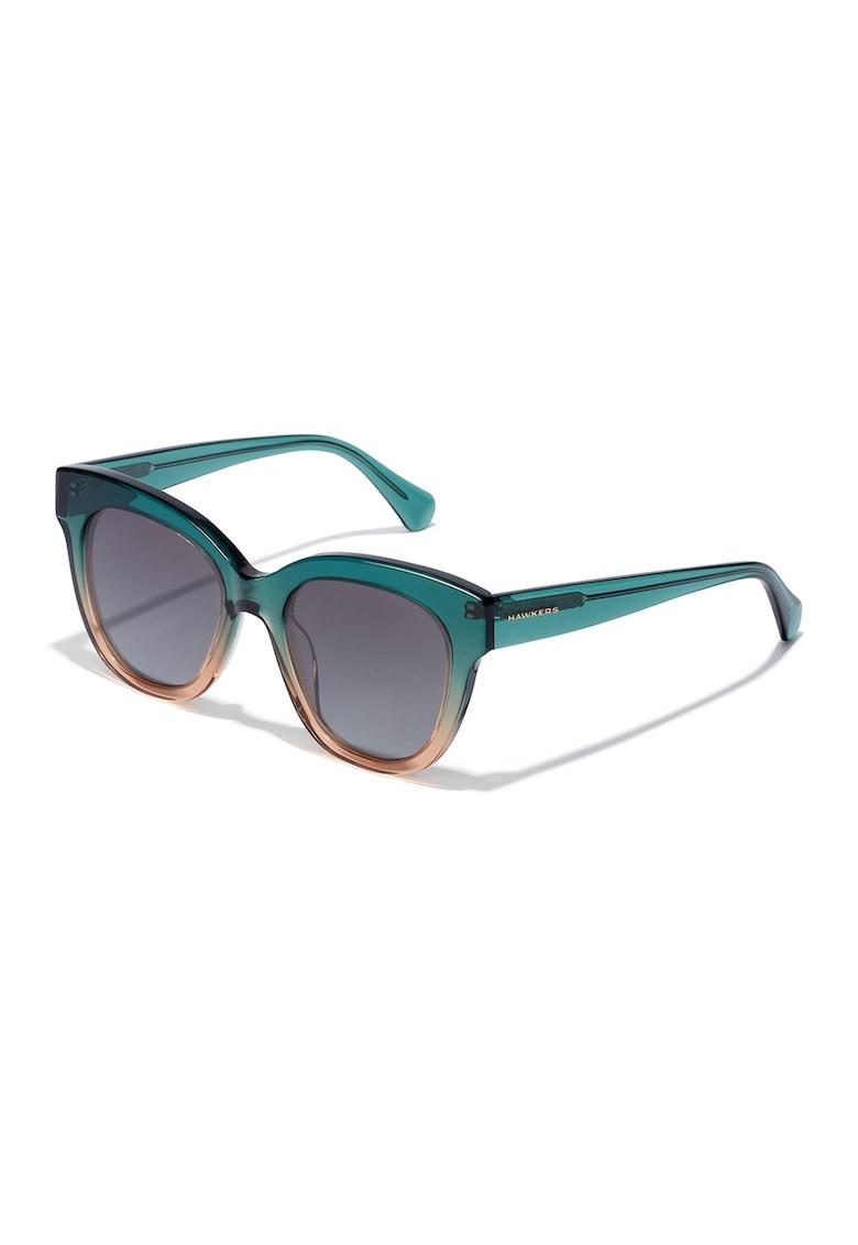 Ochelari de soare cu rama cu model in degrade Audrey imagine fashiondays.ro Hawkers
