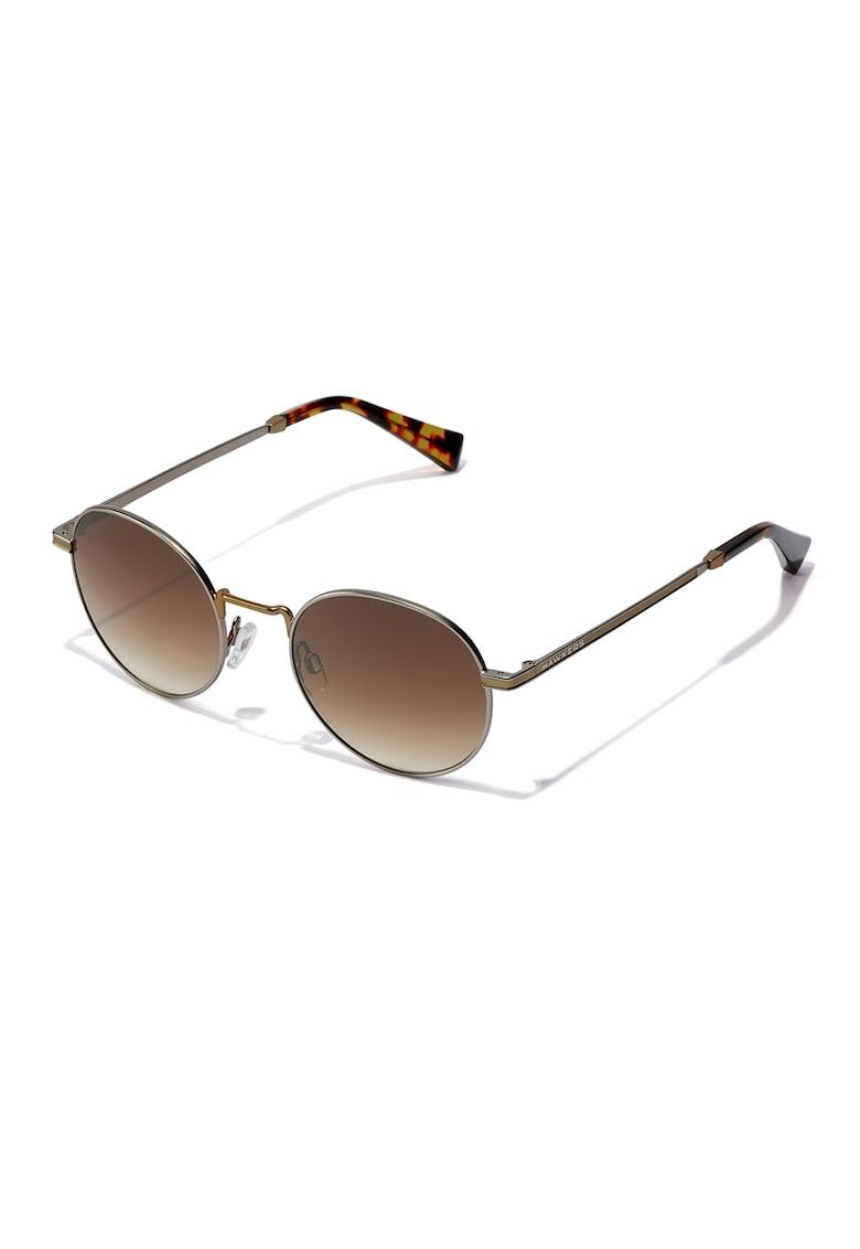 Ochelari de soare rotunzi unisex Moma imagine fashiondays.ro Hawkers