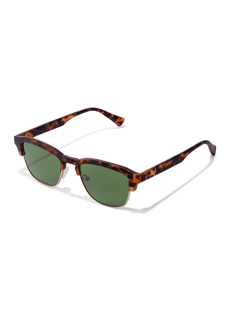 Ochelari de soare clubmaster unisex New Classic imagine fashiondays.ro Hawkers