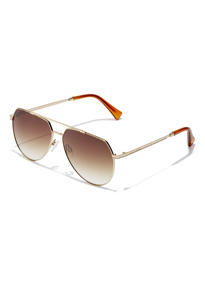 Ochelari de soare aviator unisex cu lentile in degrade imagine fashiondays.ro Hawkers