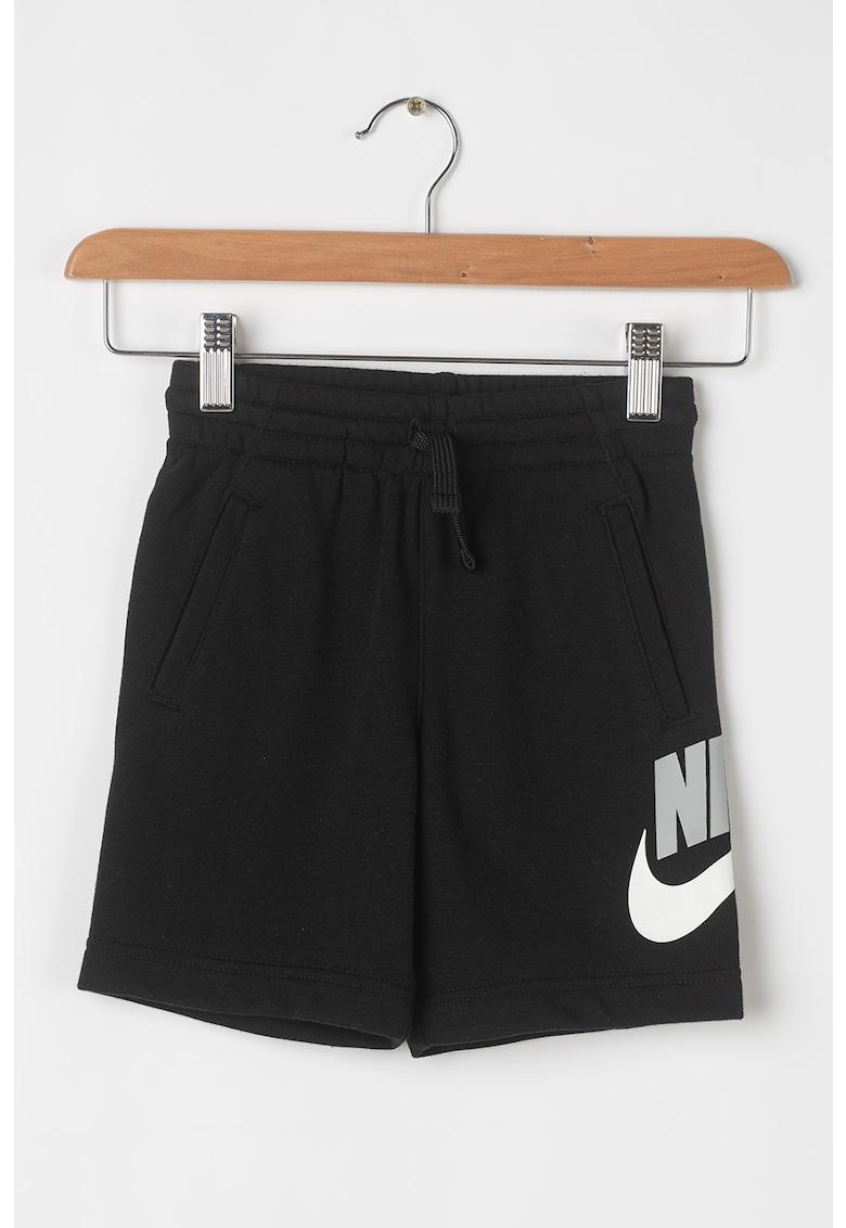 Nike Pantaloni scurti cu snur de ajustare si buzunare laterale CLUB HBR