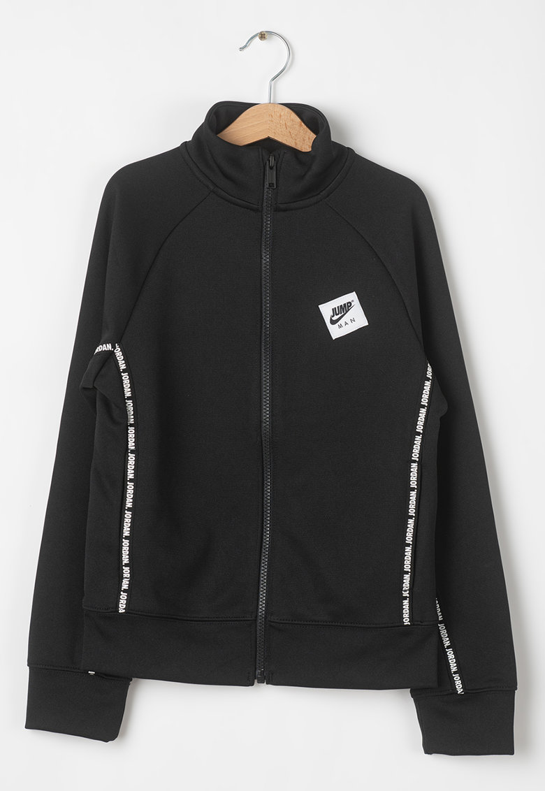 Bluza sport cu maneci raglan si fermoar JUMPMAN imagine fashiondays.ro Nike
