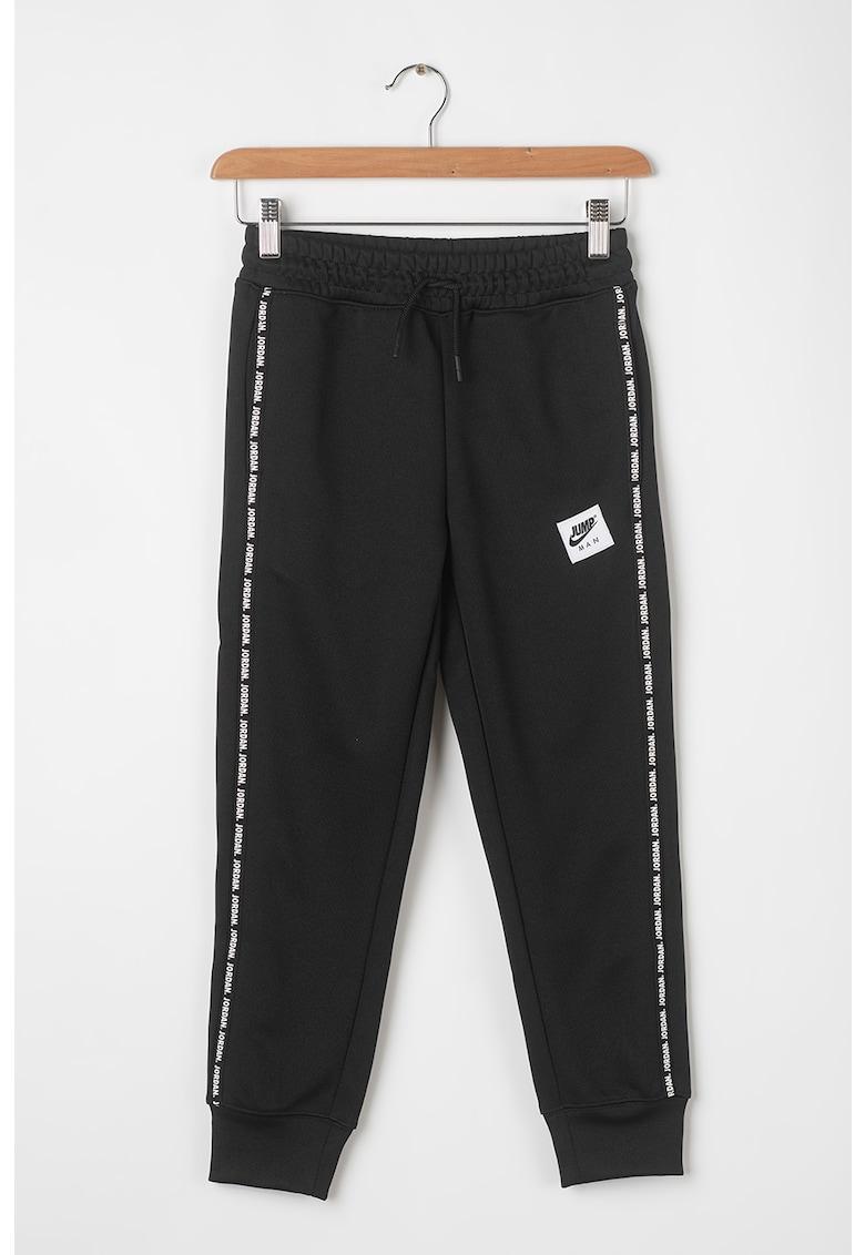 Nike Pantaloni sport cu benzi laterale contrastante Jumpman