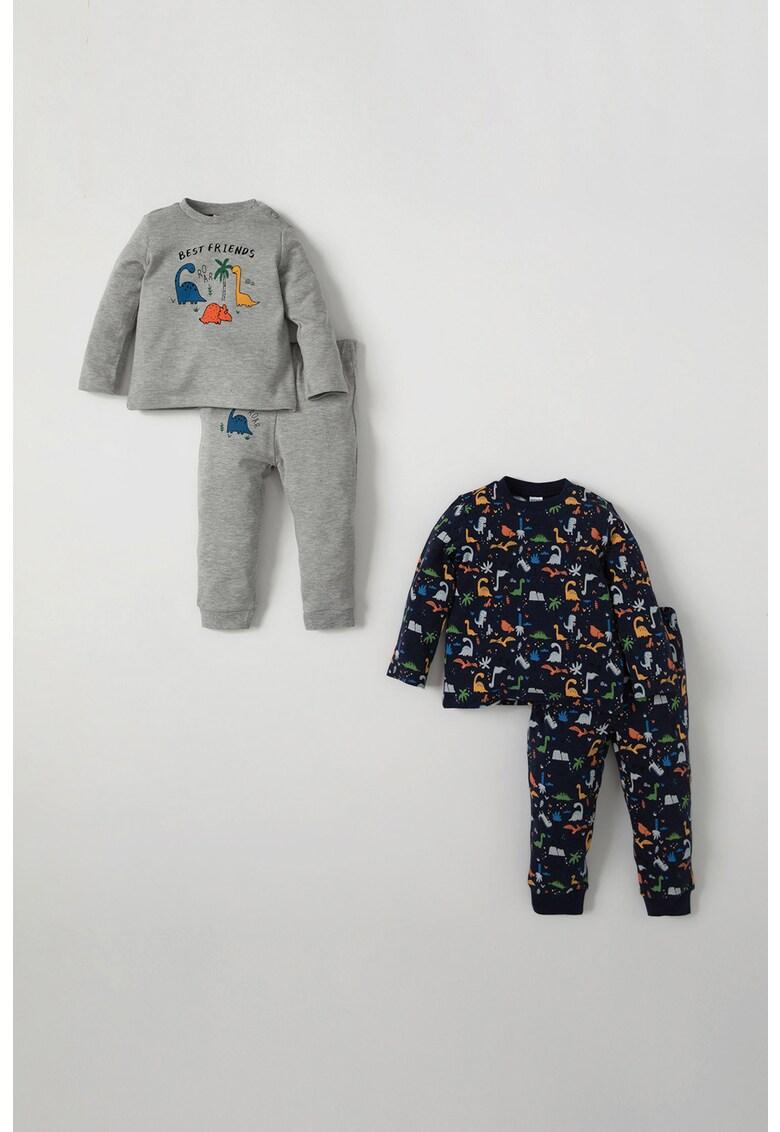 Set de pijamale din bumbac - 2 perechi